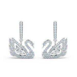 SWAROVSKI DANCING SWAN125th Anniversary Earrings